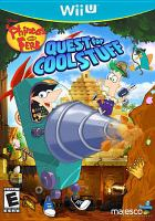 Phineas and Ferb. Quest for cool stuff [interactive multimedia (video game for Wii U)].