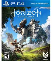 Horizon zero dawn [electronic resource (video game for PS4)].