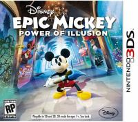 Epic Mickey. Power of illusion [interactive multimedia (video game for Nintendo 3DS)]