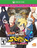 Naruto shippuden. Ultimate ninja storm 4, Road to Boruto [electronic resource (video game for Xbox One)].
