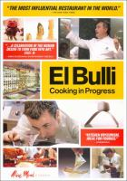 El Bulli : [videorecording (DVD)] cooking in progress