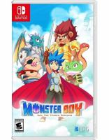 Monster Boy and the cursed kingdom [electronic resource (video game for Nintendo Switch)] .