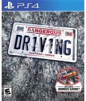 Dangerous dr1v1ing [electronic resource (video game for PS4)] : race, fight, compete.
