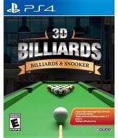 3D Billiards [electronic resource (video game for PS4)] : billiards & snooker