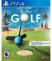 3D mini golf [electronic resource (video game for PS4)].