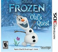 Frozen [interactive multimedia (video game for Nintendo 3DS)] : Olaf's quest.