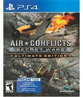 Air conflicts [electronic resource (video game for PS4)] : secret wars.
