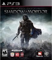 Middle-earth. Shadow of Mordor [interactive multimedia (video game for PS3)].