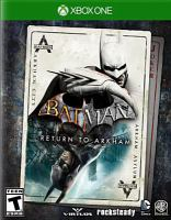 Batman [electronic resource (video game for Xbox One)] : Return to Arkham, Arkham asylum.