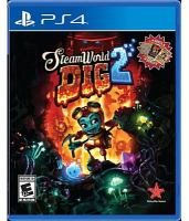 SteamWorld dig 2 [electronic resource (video game for PS4)]