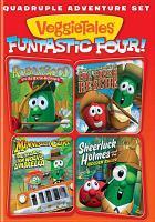 Veggie Tales, Funtastic Four - Quadruple Adventure Set