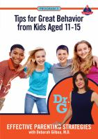 Effective Parenting Strategies With Deborah Gilboa, M.D