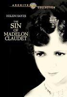 The Sin of Madelon Claudet