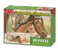 Horse Corral Floor Puzzle