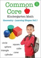 Common Core Kindergarten Math