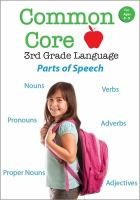 Common Core 3rd Grade Language