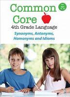 Common Core 4th Grade Language