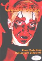 Face painting. Halloween classics face painting