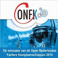 Winnaars nederlandse fanfare kampioenschappen 2014