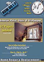 Interior Paint, Stain and Wallpaper