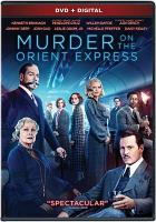 Murder on the Orient Express [videorecording]