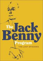 The Jack Benny program [videorecording] : the lost episodes.