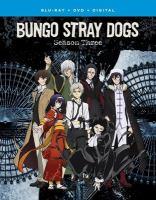 BUNGO STRAY DOGS SEASON 3 (Blu-ray + DVD)