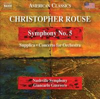 Symphony No. 5 ; Supplica ; Concerto for orchestra