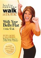 Walk at Home, Walk your Belly Flat