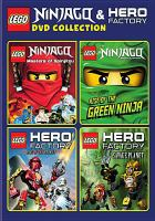 LEGO Ninjago & Hero Factory DVD Collection