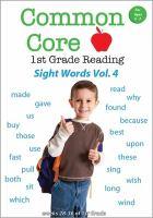 Common Core 1st Grade Reading