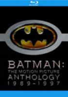 Batman: Motion Picture Anthology 1989-1997 (Blu-ray)