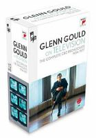 Glenn Gould on Television, the Complete CBC Broadcasts, 1954-1977
