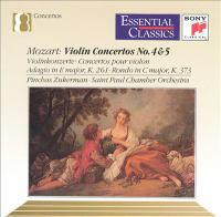 Violin Concerto No. 4 In D Major, K.218