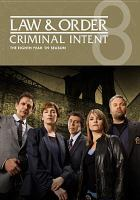 Law & Order, Criminal Intent, the Eighth Year '09 Season