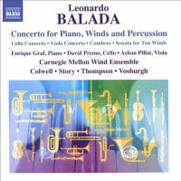 Concerto for piano, winds, and percussion