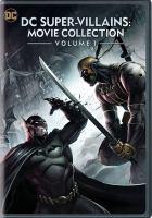 DC SUPER VILLAINS MOVIE COLLECTION VOLUME 1 (DVD)