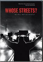 Image: Whose Streets?