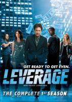 Leverage. The complete 1st season