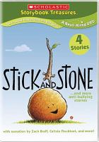 Stick and stone-- and more anti-bullying stories