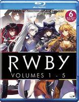 RWBY Volumes 1-5