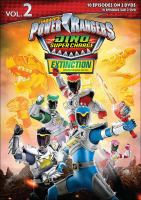 POWER RANGERS DINO SUPER CHARGE: EXTINCTION, VOLUME 2 DVD