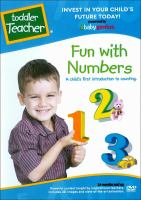 Toddler teacher. Fun with numbers