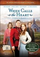When Calls the Heart Series - Complete Season 4 DVD