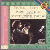 MOZART, W.A.: Sonata for 2 Pianos, K. 448 / SCHUBERT, F.: Fantasie, D. 940 (Lupu, Perahia)