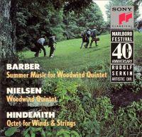 BARBER, S.: Summer Music / NIELSEN, C.: Wind Quintet / HINDEMITH, P.: Octet (Rotholz, Valdepenas, Robinson, Combs, Phillips, Neubauer)