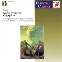 BACH, J.S.: Easter Oratorio / Magnificat (Philadelphia Orchestra, New York Philharmonic, Ormandy, Bernstein)