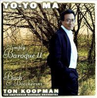 YO-YO MA: Simply Baroque, Vol. 2
