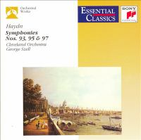 HAYDN, J.: Symphonies Nos. 93, 95 and 97 (Cleveland Orchestra, Szell)