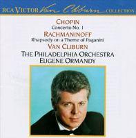CHOPIN, F.: Piano Concerto No. 1 / RACHMANINOV, S.: Rhapsody on A Theme of Paganini (Cliburn, Philadelphia Orchestra, Ormandy)